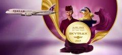 """卡塔尔航空被Skytrax评为""""2021年度最佳航空公司"""" 成史上首家六度获得这一业界至高荣誉的航司"""